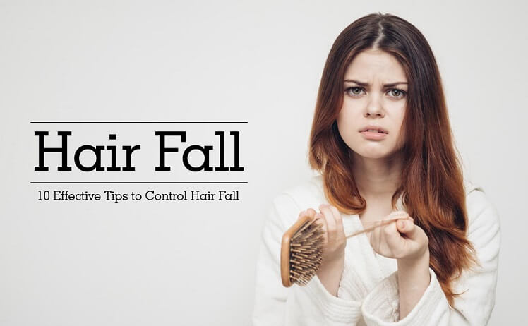 Effective tips to control hair fall