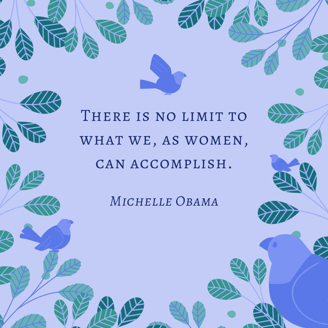 women improvement quotes by michelle obama