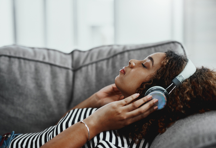 Music has a way of soothing the soul