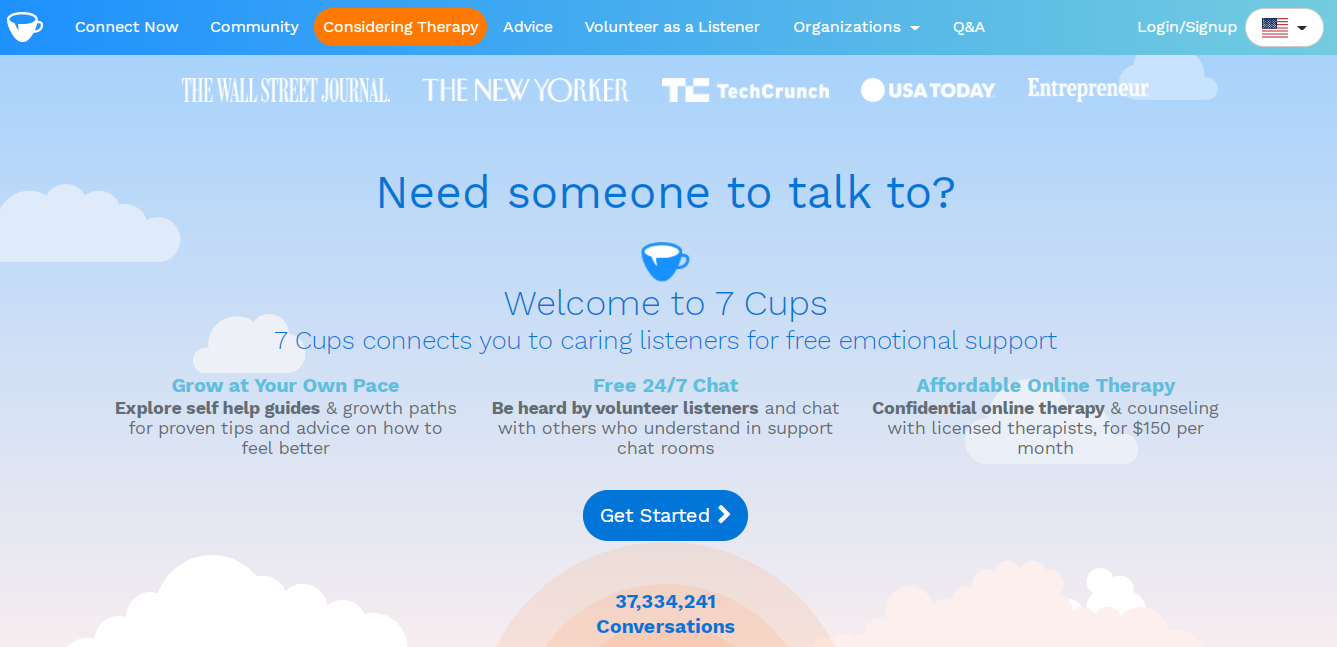 7 cups online therapy