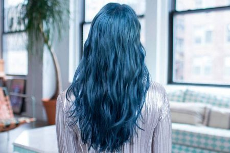 blue hair color products