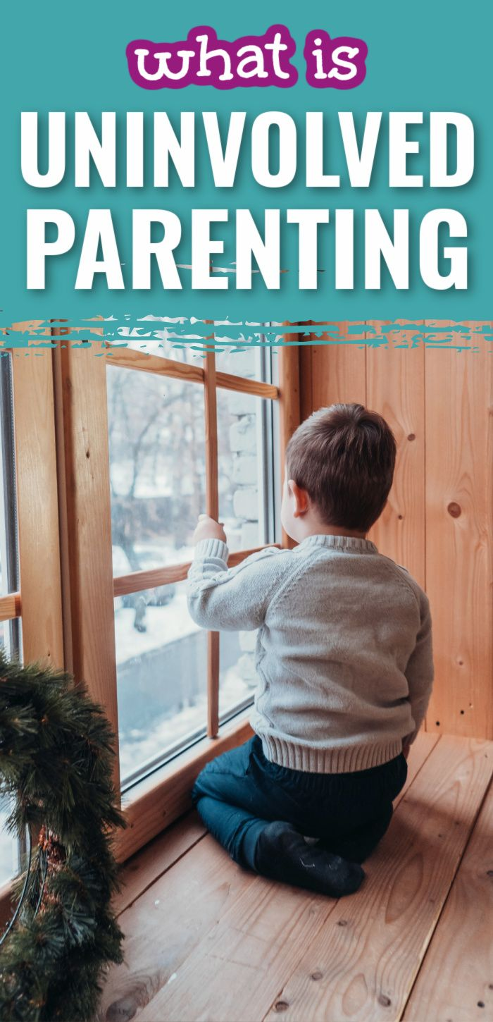 How To Deal With Uninvolved Parents